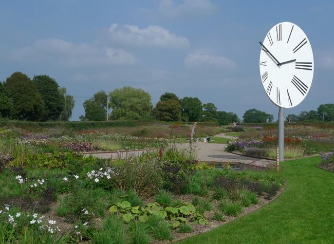 Piet Oudolf's garden at the Hauser + Wirth Gallery, Somerset