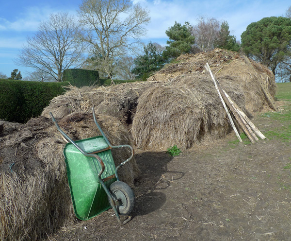 The compost heap at Great Dixter