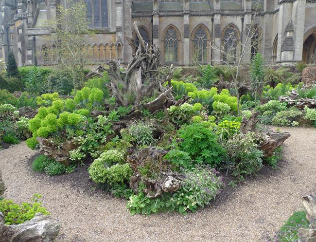 Arundel stumpery