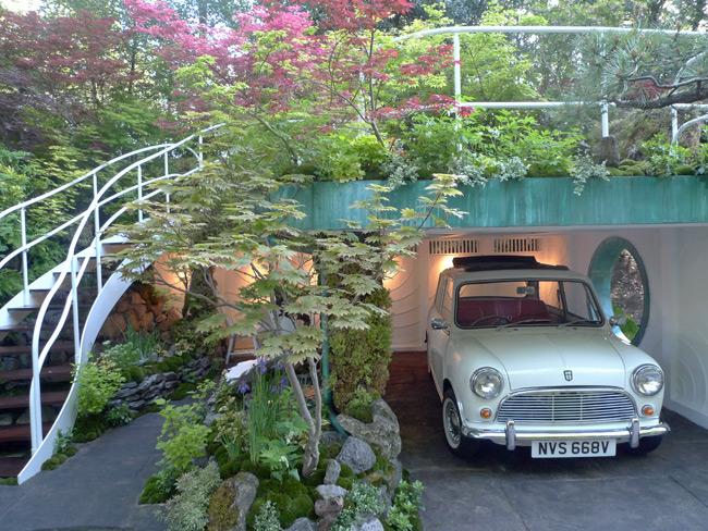 Garage-garden