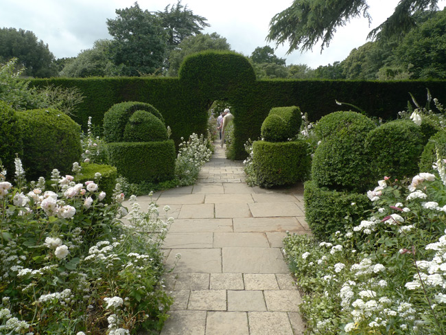 The white garden at Hidcote